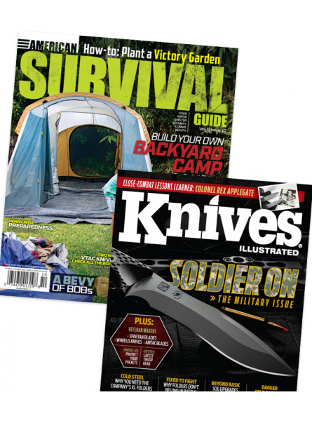 American Survival Guide and Knives Illustrated Combo Offer