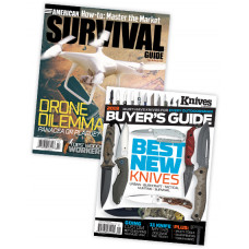 American Survival Guide & Knive Print Subscription combo