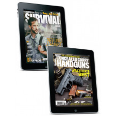 American Survival Guide & Concealed Carry Handguns digital Subscription combo