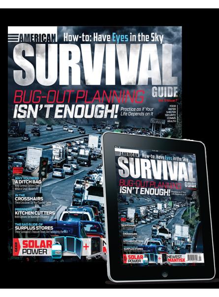 American Survival Guide Print & Digital Combo Offer