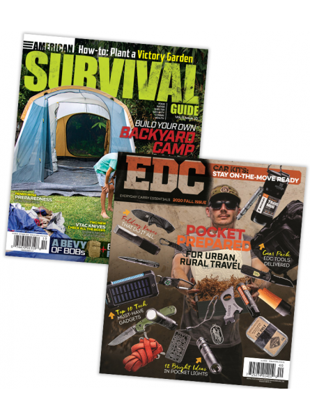 American Survival Guide Print Subscription with free EDC Buyers Guide 2020