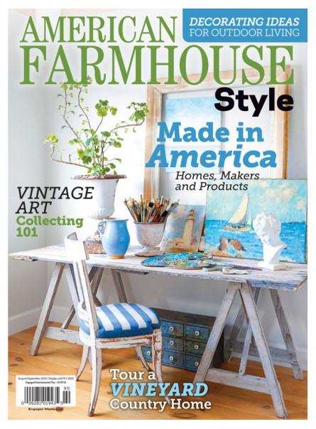 American Farmhouse Style Aug/Sep 2020