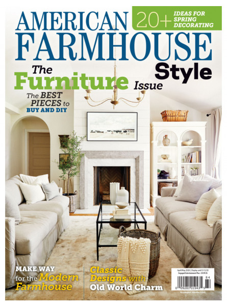 American Farmhouse Style Apr/May 2020