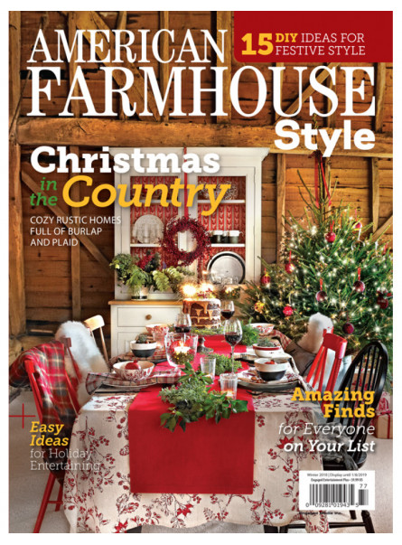 American Farmhouse Style Print Subscription