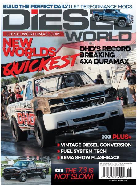 Diesel World Print Subscription Offer