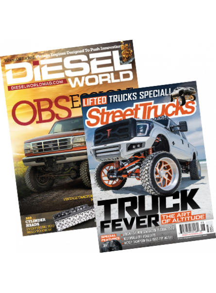 Diesel World and Street Truck Print Subscription combo