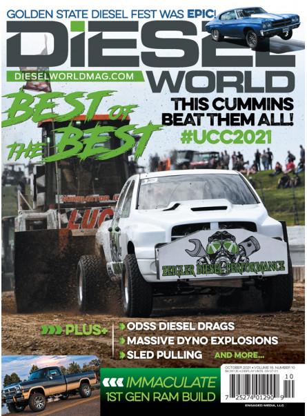Diesel World Print Subscription