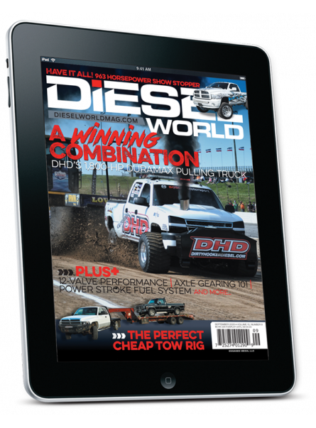 Diesel World digital subscription with one year of free digital back issues
