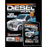 Diesel World Combo Magazine