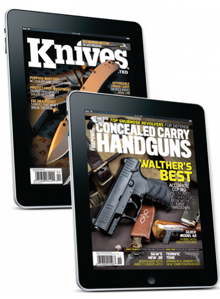 Knives and Concealed Carry Handguns Digital Subscription offer