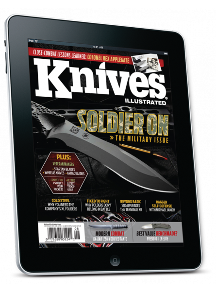 Knives Illustrated digital subscription with one year of free digital back issues