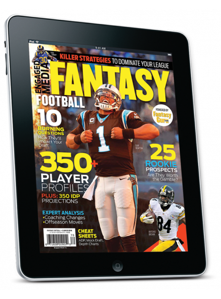 Fantasy Football FF Summer July 2016 Digital