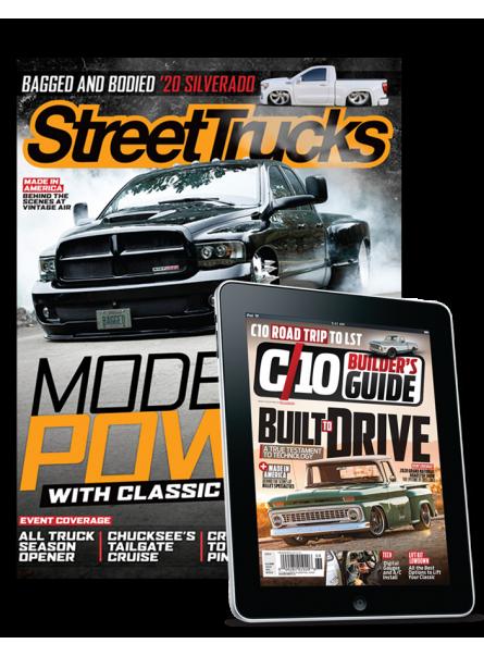 Street Trucks and C10 Builder's Guide print & digital combo offer