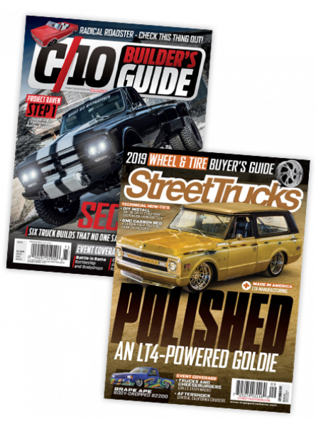 C10 and Street Trucks Print Subscription combo offer