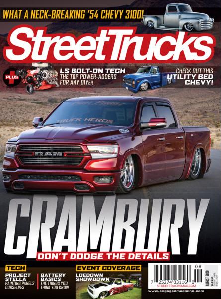 Street Trucks Print Subscription With Free Brand Sticker