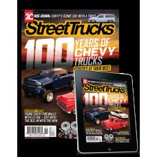 Street Truck Print Subscription Offer