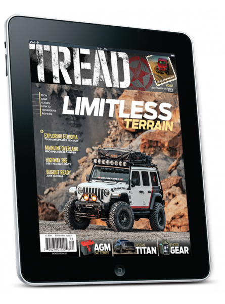 Tread Digital Subscription with two years of free digital back issues
