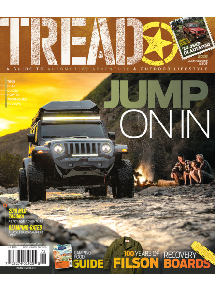Tread Print Subscription offer