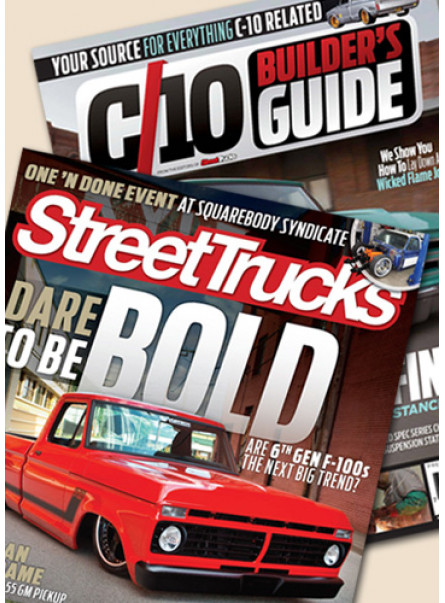 Street Truck and C10 Print Subscription combo