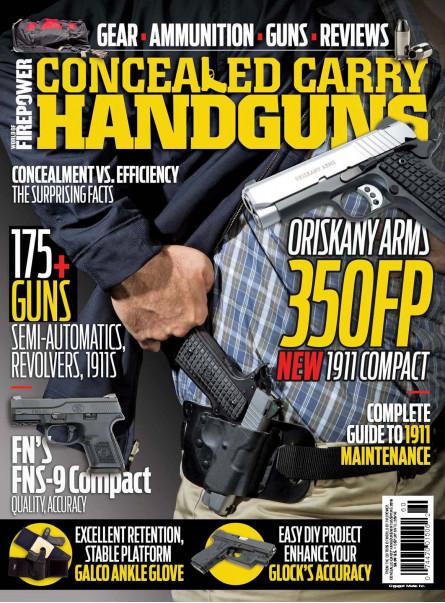 Conceal Carry Handguns Winter/Spring 2016
