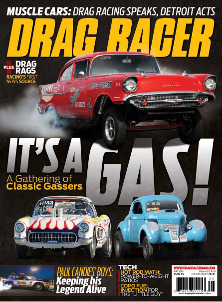 Drag Racer MAY 2016