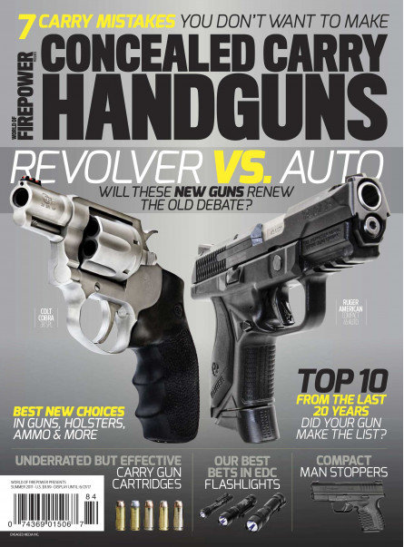 Conceal Carry Handguns Summer 2017