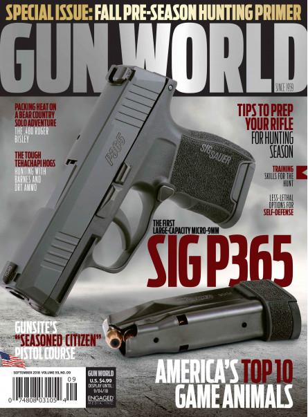 Gun World September 2018