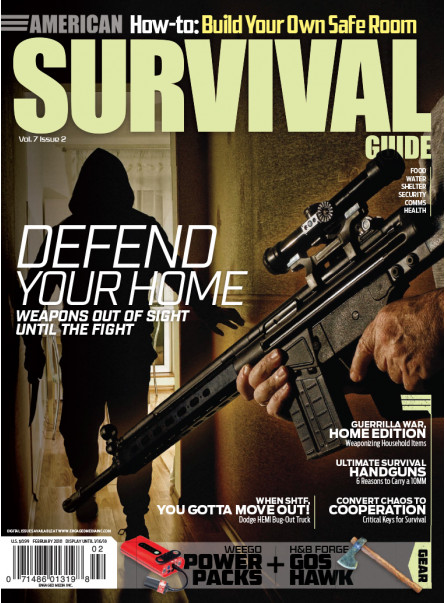 American Survival Guide February 2018