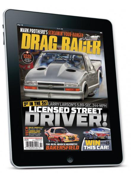 Drag Racer July 2017 Digital