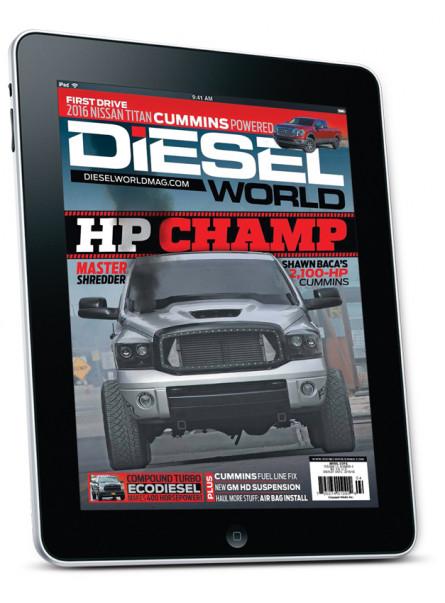 Diesel World APRIL 2016 Digital