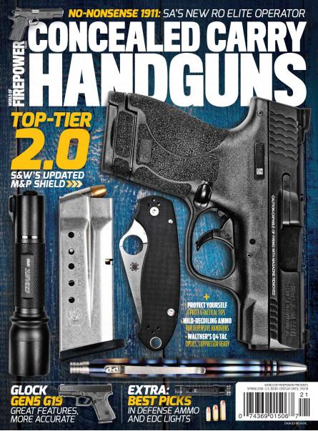 Conceal Carry Handguns Spring 2018