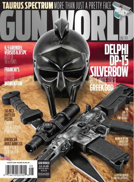 Gun World August 2018