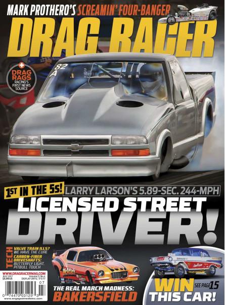 Drag Racer July 2017