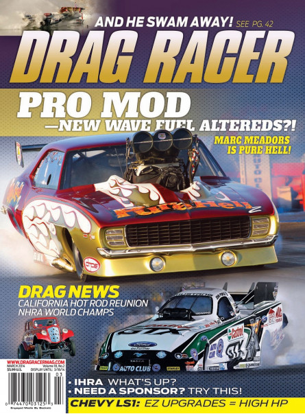 Drag Racer Mar 2014