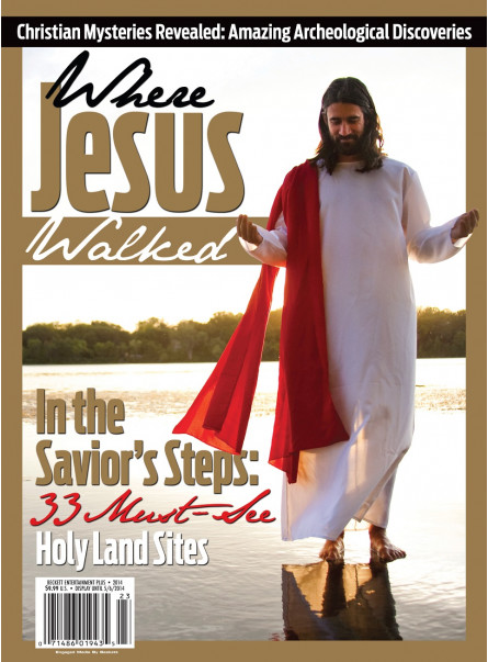 Where Jesus Walked - First Issue 2014