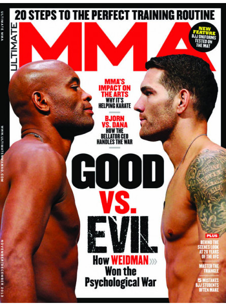 Ultimate MMA Nov/Dec 2013