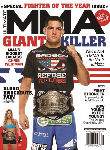 Ultimate MMA March/April 2014