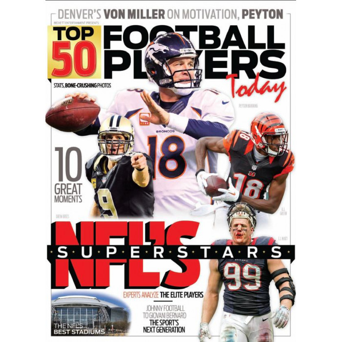 Top 50 Football Players Today! for Sports & Ent  Enthusiasts