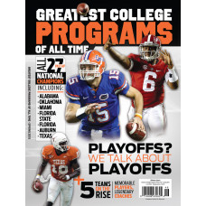 25 Greatest College Football Programs - South Spr 2015