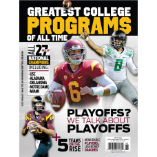 25 Greatest College Football Programs - West Spr 2015
