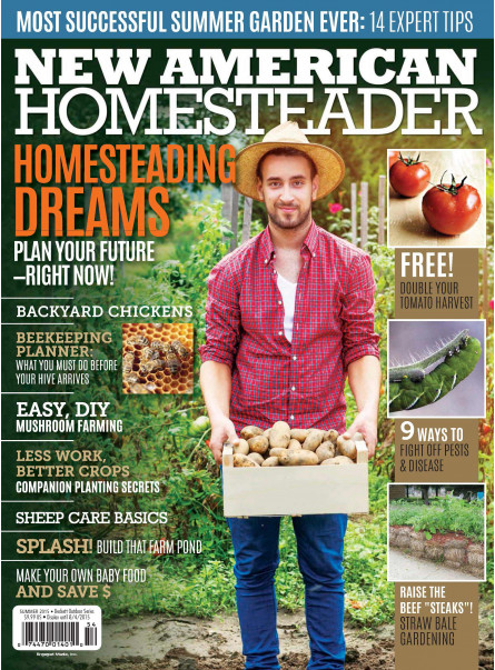 New American Homesteader Summer 2015