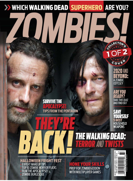 Zombies - Rick and Daryl - Collector's Covers 1 of 2