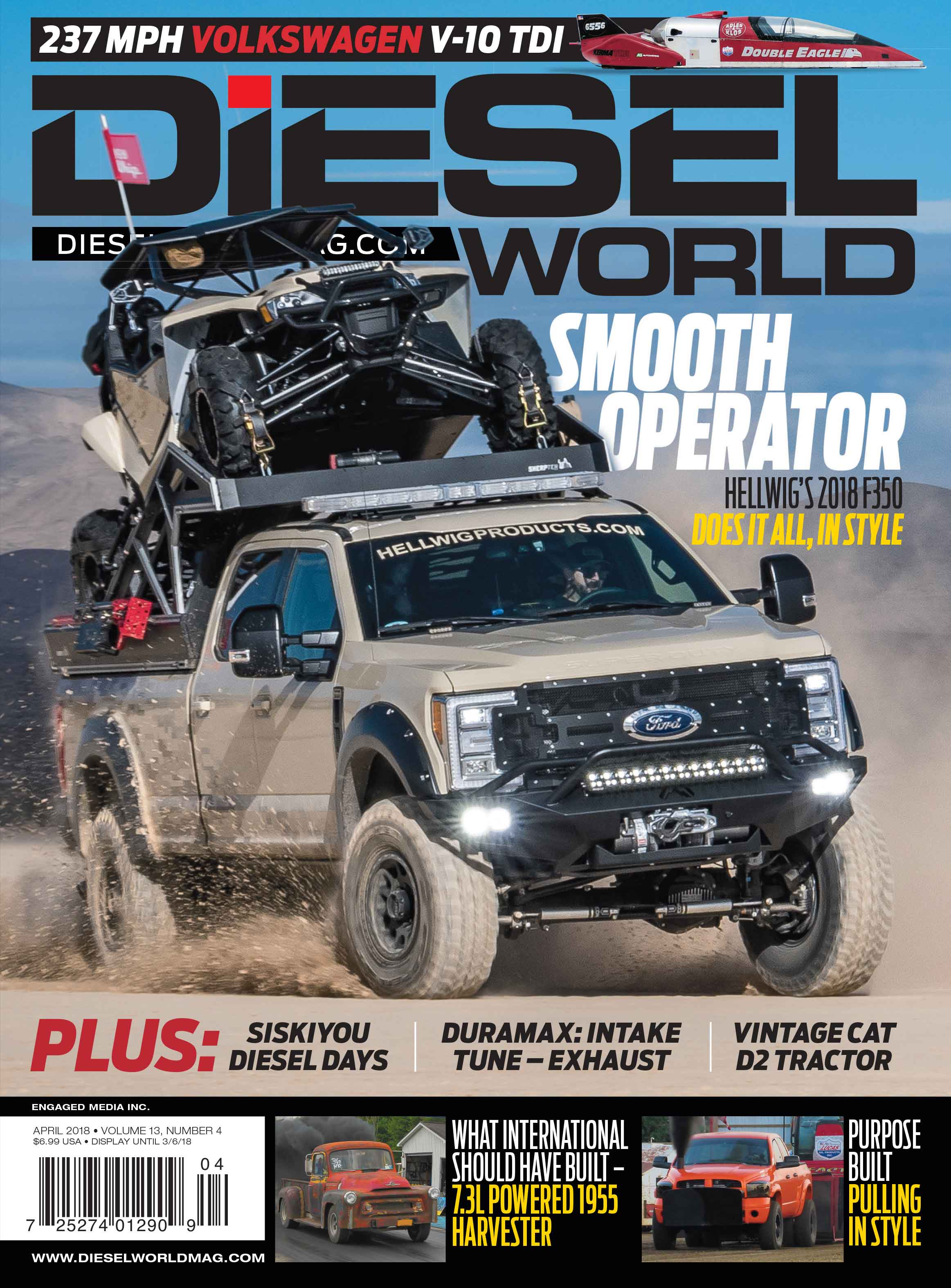 Diesel World Magazine Print Subscription Online USA – Engaged Media