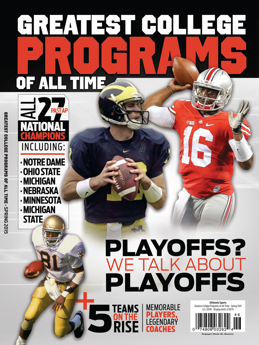 25 Greatest College Football Programs  Midwest Spr 2015