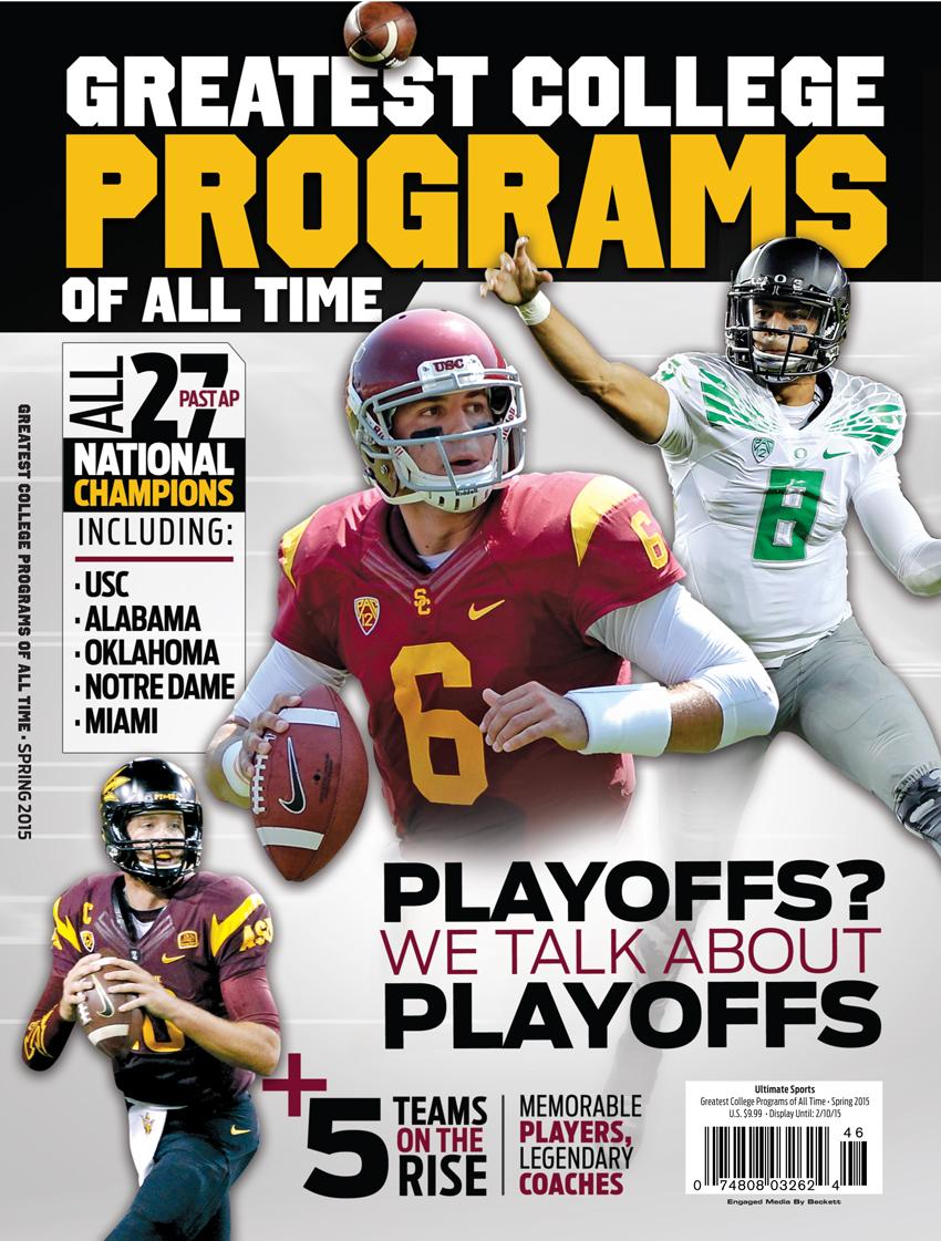 25 Greatest College Football Programs  West Spr 2015